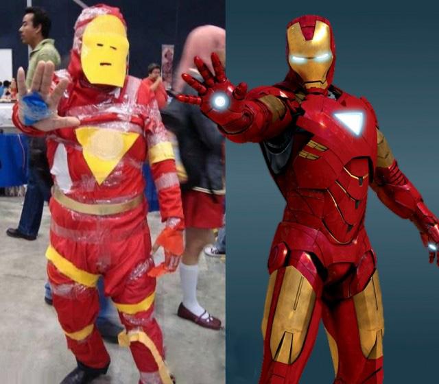 Bad cosplay - Ironman
