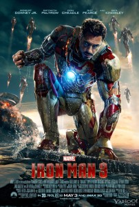 Ironman 3 International poster