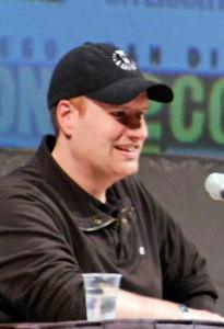 Producer og Marvel Studios-chef Kevin Feige under Comic-Con 2010.