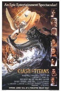 Clash of the Titans 1981 poster