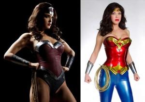 Det ene billede er fra David E. Kelley's Wonder Woman-pilot. Det andet er fra en porno-parodi. Kan du gætte hvilken der er hvad? Svar nederst på siden.