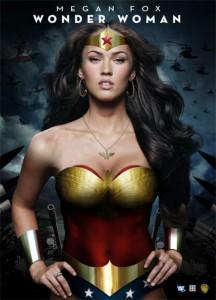 Et bud på Wonder Woman spillet af Megan Fox.