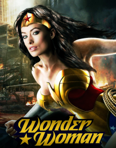 Olivia Wilde som Wonder Woman.